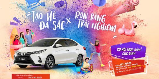 Bùng nổ khuyến mại chào hè cực sốc với dòng xe Toyota Vios