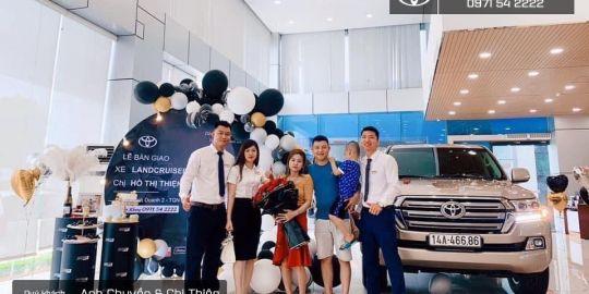 Cám ơn Quý khách hàng đã & đang đồng hành cùng Toyota Quảng Ninh trong thời gian vừa qua