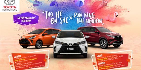 Toyota Quảng Ninh triển khai chương trình ưu đãi lên đến 30 triệu đồng cho Vios và 20 triệu đồng cho Wigo