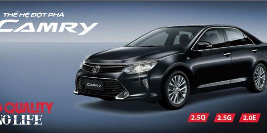 Toyota Việt Nam giới thiệu Camry mới 2017