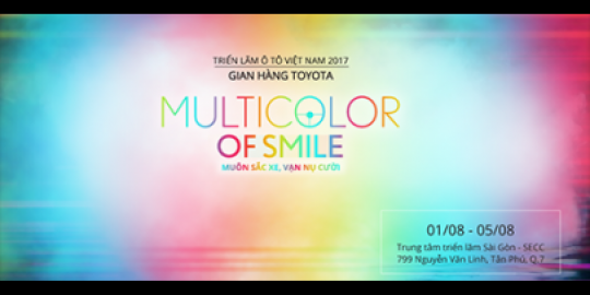 Toyota Việt Nam sẽ mang những trải nghiệm đầy màu sắc tới Triển lãm Ô tô Việt Nam 2017