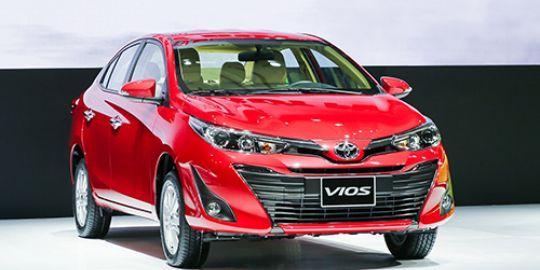 Toyota Vios 2019: khuyến mại, giá lăn bánh